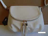 Стильная женская сумка Beiyani белого цвета