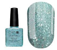 Гель-лак для ногтей СND Shellac Glacial Mist (бирюзово-голубой с глиттером) 7.3 мл