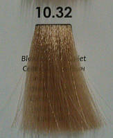 10.32 Светлый Блондин Золотисто-Фиолетовый, крем-краска для волос Luxor Color