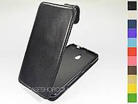 Откидной чехол из натуральной кожи для NokiaLumia 1320