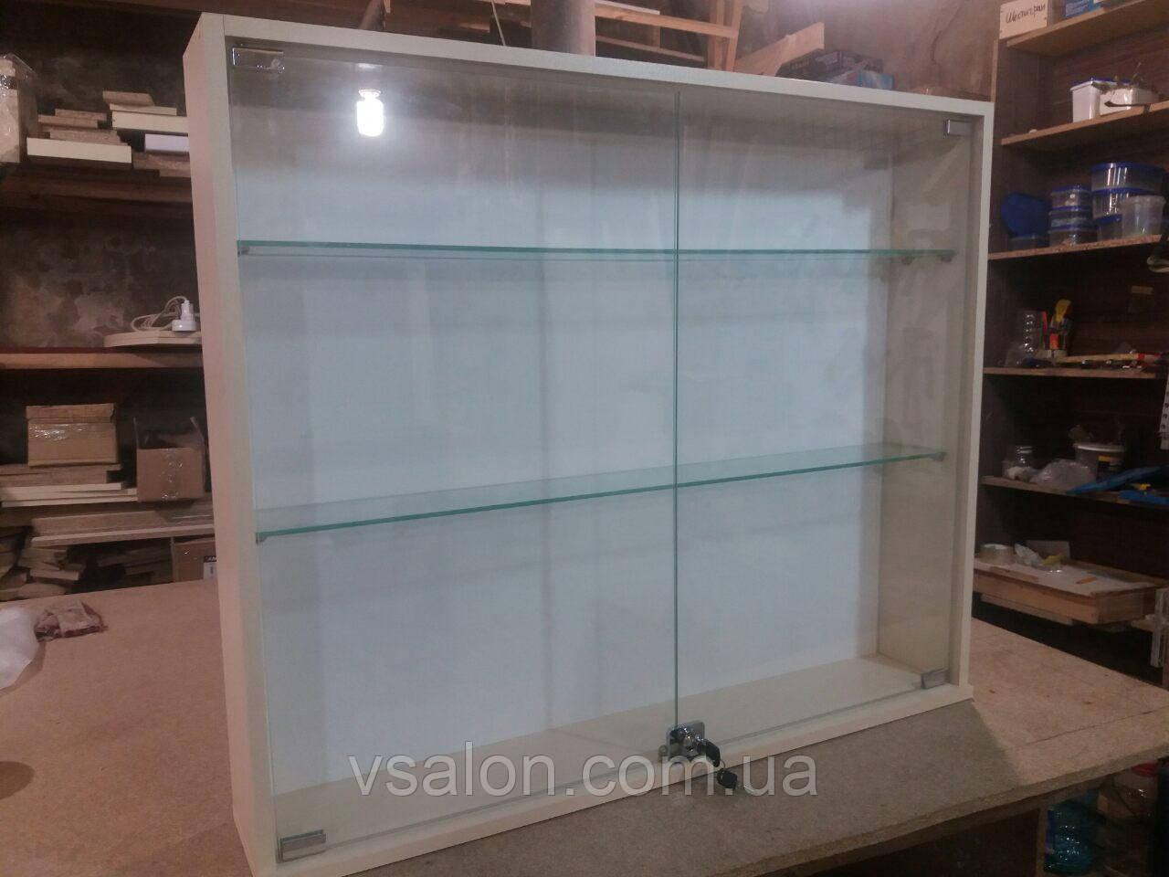 Навесная витрина со стеклом А98