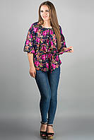 Рубашка Лолита (розовые цветы)