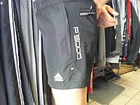 Шорты Adidas Porsche  чёрные.Размеры S