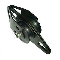 Блок-ролик Krok Промальп Увеличенный двойной D65/45 мм сталь с подшипником 5000 кг