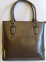 Женская сумка Kenguru коричневый цвет