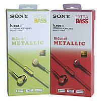 Вакуумные наушники с микрофоном стилизованные под SONY MDR-EX 760MT