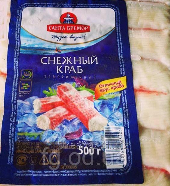 Краб Снежный 500 грамм