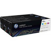 Картридж HP CLJ 131A Tri-Pack (CF211A, CF212A, CF213A) (U0SL1AM)