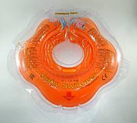 Коло для купання малюка Baby Swimmer Classic помаранчевий
