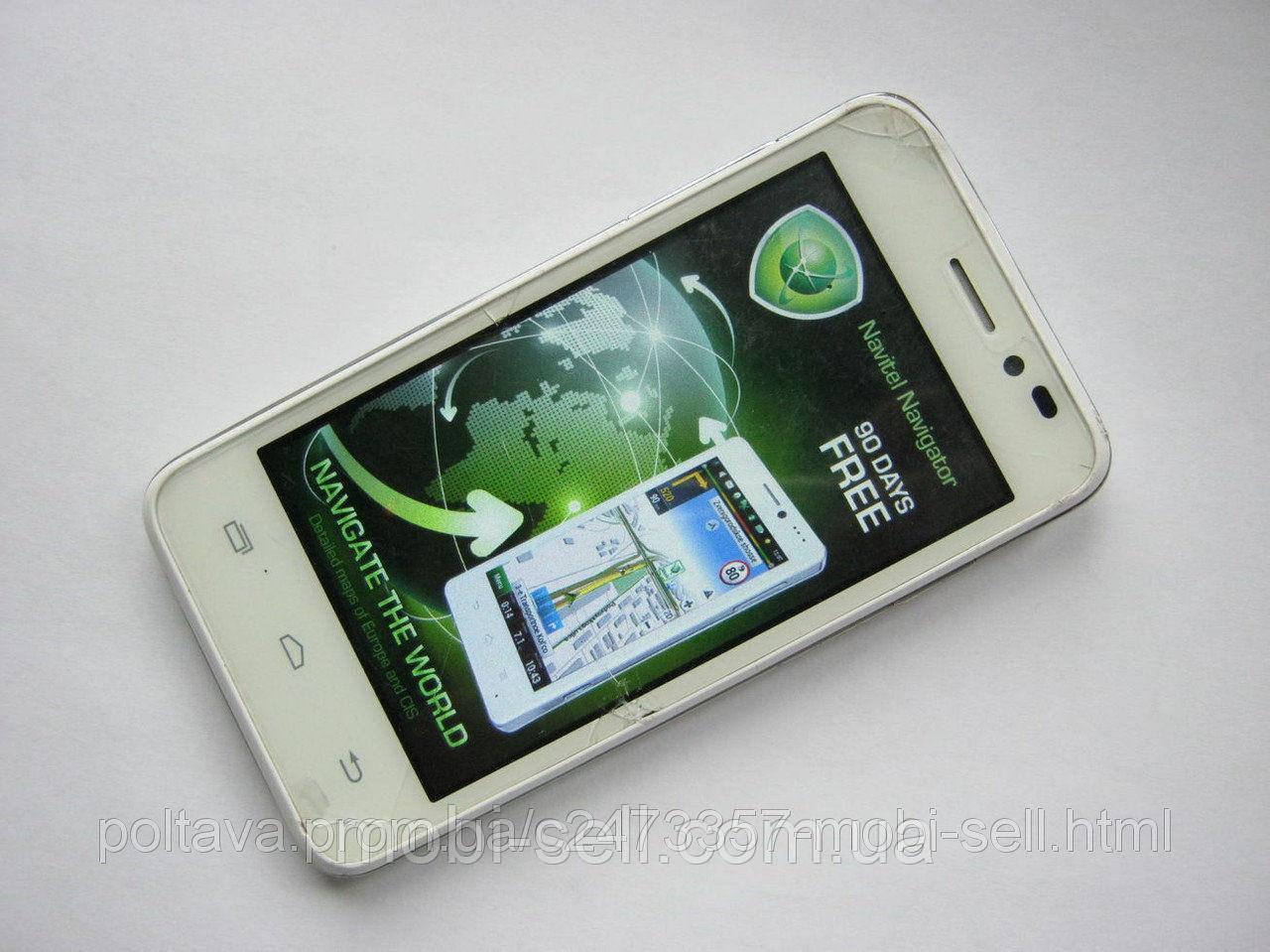 УЦЕНКА: Дисплей для Prestigio PAP5400 DUO LCD модуль сенсор битый, дисплей работает (оригинал, разборка)