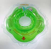 Коло для купання малюка Baby Swimmer Classic зелений