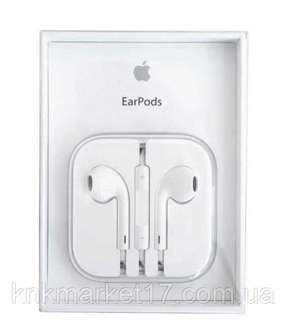 Наушники Apple Earpods with Remote and Mic (MD827) for iPhone 5 NO RETAIL  BOX 3d7954169ad00
