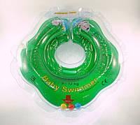 Круг для купания малыша Baby Swimmer Classic с погремушкой