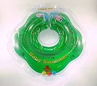 Круг для купания малыша Baby Swimmer Classic с погремушкой, фото 1