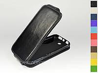 Откидной чехол из натуральной кожи для Nokia 225