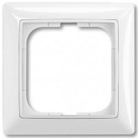 Рамка на 1-пост, белый - ABB Basic 55