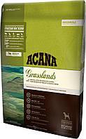 Корм для собак Acana Grasslands Dog 2 акана для собак всех пород и возрастов без зерна, с ягненком