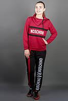 Спортивный костюм бордовый, фото 1