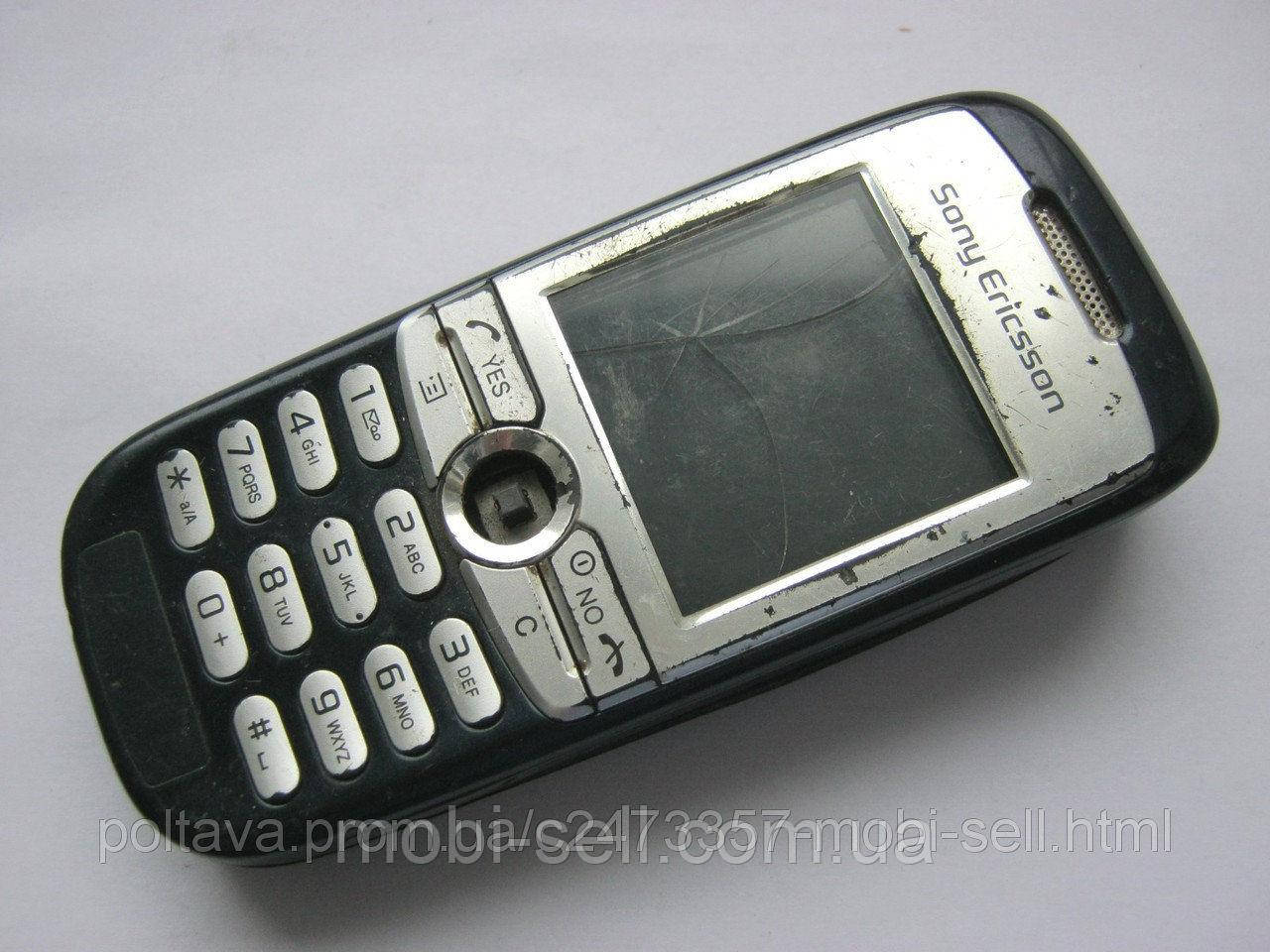 Sony Ericsson J200 на запчасти (корпус,динамик, кнопки, джойстик)