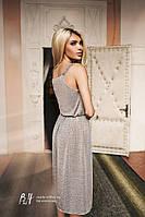 Женское летнее платье «Кармелита» L, Серый