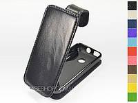 Откидной чехол из натуральной кожи для Nokia208