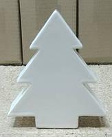 Декор новогодний керамический глянцевый Елка.