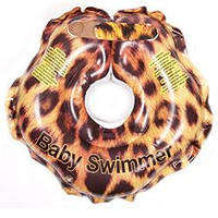 Круг для купания малыша Baby Swimmer Гламур