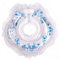 Круг для купания малыша Baby Swimmer Гламур гжель