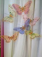 Декоративные большие бабочки 20 см