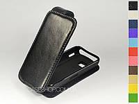 Откидной чехол из натуральной кожи для Nokia 5228