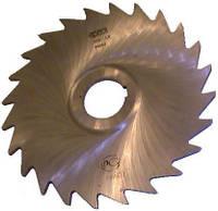 Фреза дисковая отрезная ф  80х2.5 мм Р6М5 z=20 крупный зуб