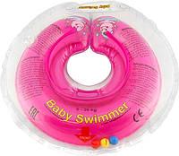 Круг для купания малыша Baby Swimmer (6-36кг) с погремушкой
