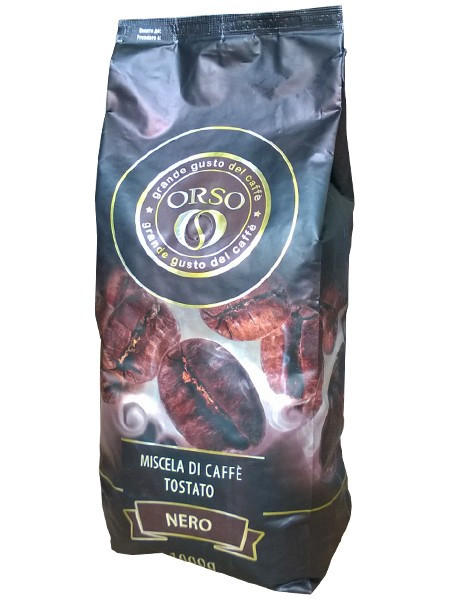 """Кофе в зернах ТМ ORSO """"Nero"""" 1кг."""