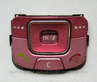 Клавиатура для Samsung C300 розовая, оригинал