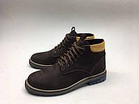 Мужские ботинки Timberland коричнево-жёлтые