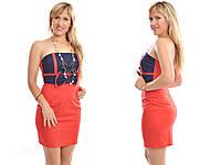 Платье летнее женское коктейльное