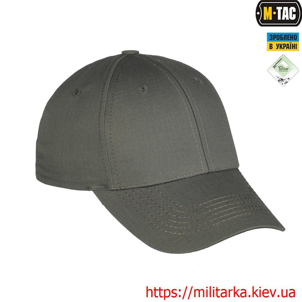 M-Tac бейсболка Elite Flex рип-стоп Army Olive