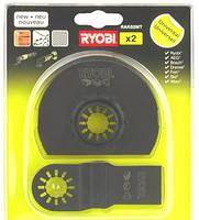 Набор полотен для многоф. инструмента RYOBI RAK02MT (2 полотна)