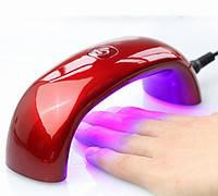 Ультрафиолетовая LED-лампа для сушки UF гель / лака / 9 W MINI