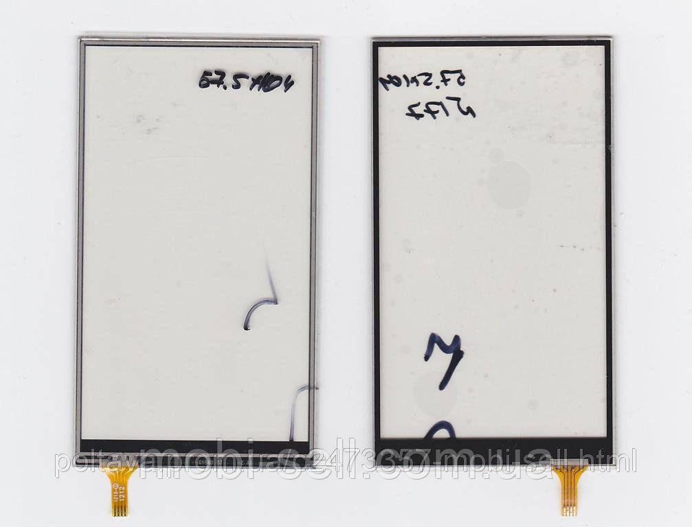 Сенсор тачскрин 57.5 х 104 мм (China Phone)