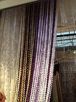 Нитяные шторы спиральки