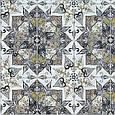 Декоративная ткань принт узорная плитка, фото 2