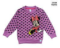 Кофта Minnie Mouse для девочки. 92, 104, 122 см