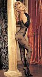 Кэтсьюит черный с сердечками, фото 2