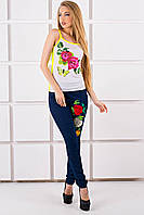 Майка с цветным принтом, фото 1