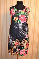 Платье без рукава 3534 черное