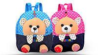 Сказочные детские рюкзаки с игрушками в кармане