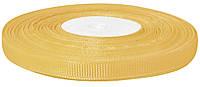 Репсовая лента светло-коричневая 0,9 см х 25 ярдов