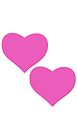 Накладки на соски в виде сердечек