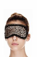 Леопардовая маска для сна